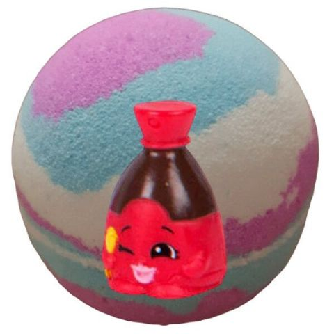 Buried Treasure Bath Bomb With Toy Shopkins Figure Inside